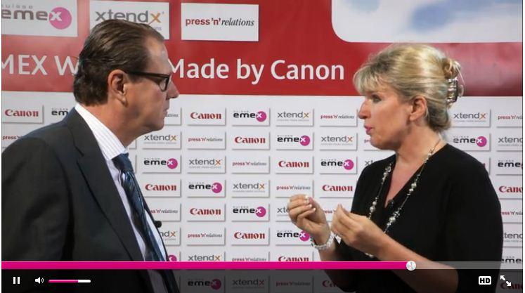 Interview by Canon: Das Online Business der Zukunft. Prof. Martina Dalla Vecchia an der SuisseEMEX 2013