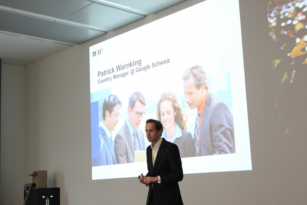 Digital Future Forum der FHNW. Keynote: Patrick  Warnking, Google.