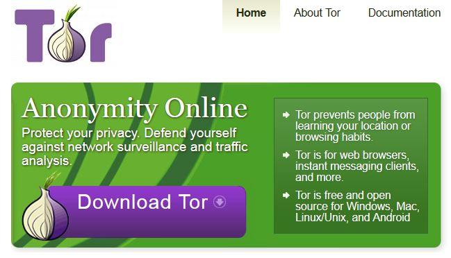 Anonym surfen mit Tor