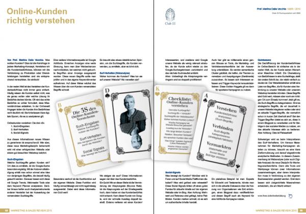 Artikel Marketing Sales Review: Online-Kunden richtig verstehen by Martina Dalla Vecchia