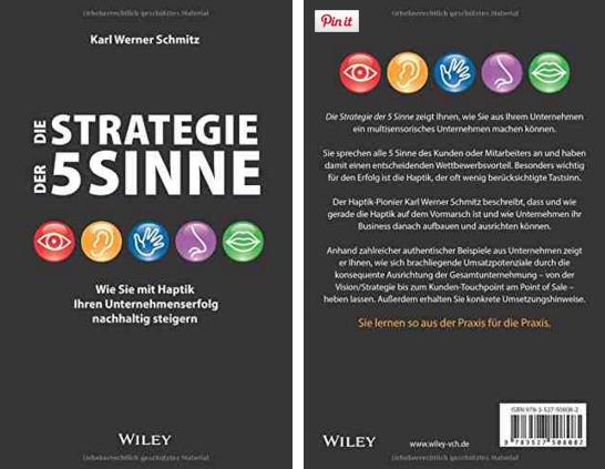 Buch: Strategie der 5 Sinne von Karl-Werner Schmitz